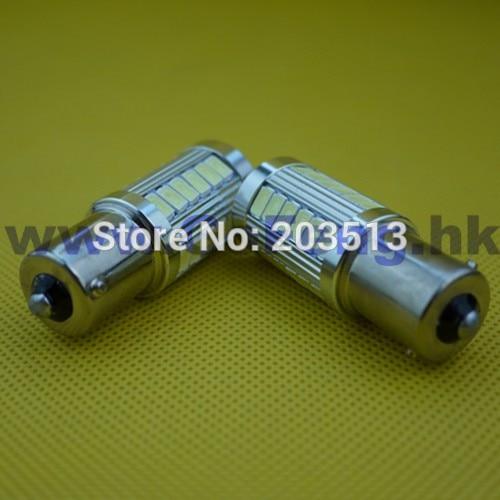 50pcs lot hot sales car led lighting 33 SMD 1156 ba15s 5630 33 leds smd white