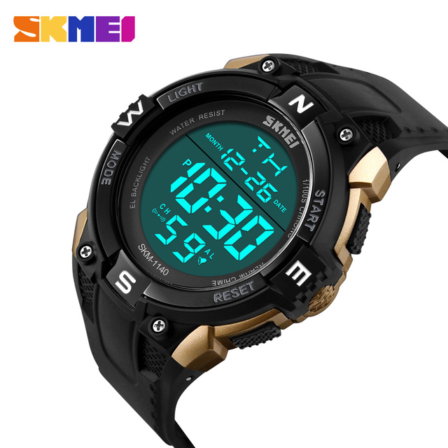 553431a2e1a8 Skmei led reloj digital de los hombres de la marca de lujo famoso reloj  deportivo reloj