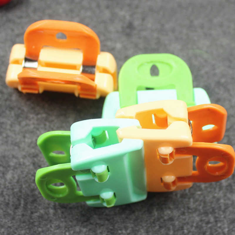 4PCS Portable ABS Practical Food Sealing Very Strong Clamp Clip Powder Food Package Bag Clip GI678654