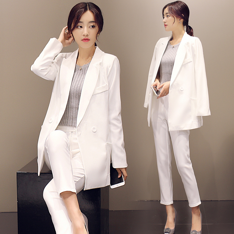 Aliexpress.com : Buy New 2015 Autumn Formal Women's Pant Suit ...