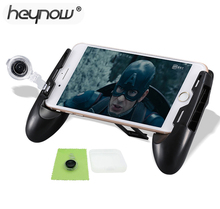 HEYNOW manette pour support de téléphone Portable Portable poignée de jeu Étendu Poignée manette Pour Iphone Xiaomi Contrôleur joystick(China)