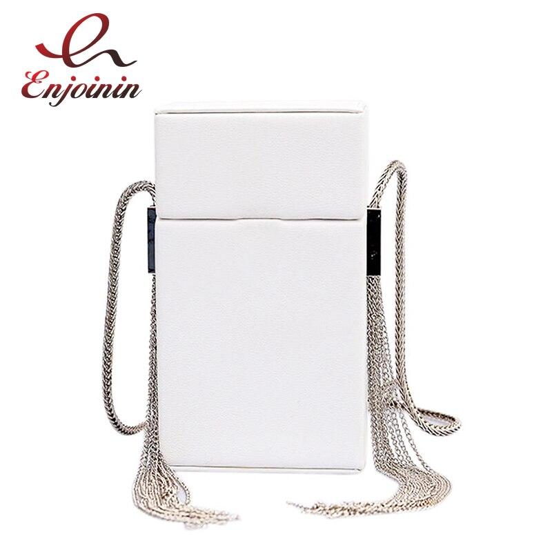 Trend Style Silver Fringe Small Box Design Pu Leather Fashion ladies Casual Shoulder Bag Tote Crossbody Mini Messenger Bag Flap все цены
