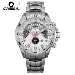 CASIMA Smart Mens Watches Creative Luxury Quartz Analog Watch Men Military Sport Waterproof Clock White for Business 8201