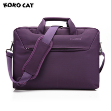 2017 kokocat Мода 15.6 дюймов ноутбук сумки для мужчин и женщин Briefcase Lady Твердые сумки 4 цвета 1142