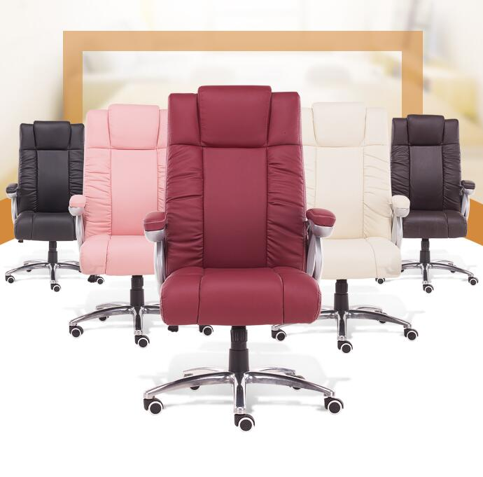 High Quality Super Soft Office Chair Leisure Lying Boss Chair Lifting Adjustable Swivel Chair Ergonomic Computer Chair 240337 ergonomic chair quality pu wheel household office chair computer chair 3d thick cushion high breathable mesh