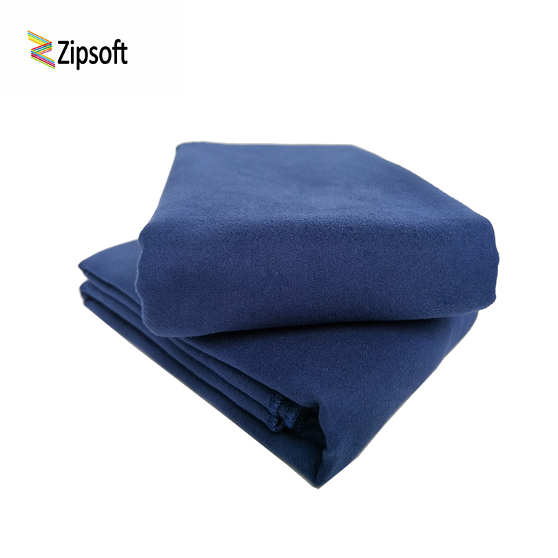 2 PcsLot Zipsoft Beach Towels Microfiber quick dry compact backpacking travel sports pilates cycling hiking yoga Fabric Square on AliExpress