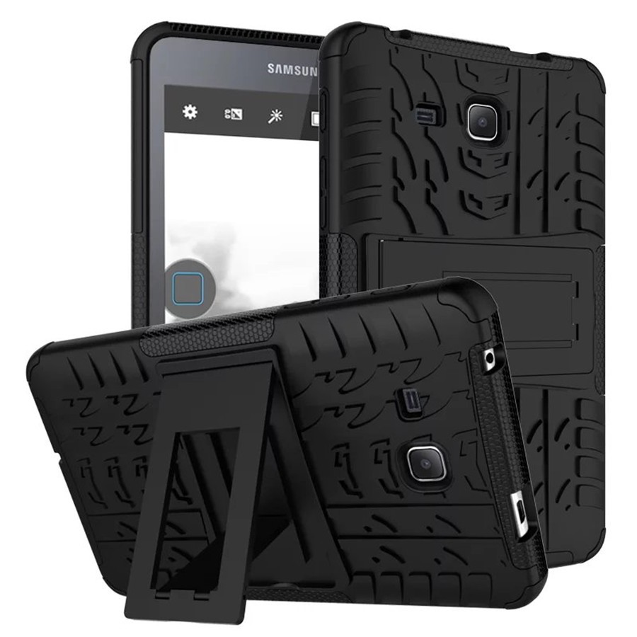 Anti-Knock Silicone Hard Back Case Hybrid Heavy Duty Armor Shockproof Cover For Samsung Galaxy Tab A A6 7.0 T280 T285