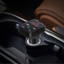JL2.1 Auto lecteur MP3 USB affichage LED bleu véhicule FM émetteur Bluetooth MP3 WMA voiture lecteur MP3 FM émetteur modulateur
