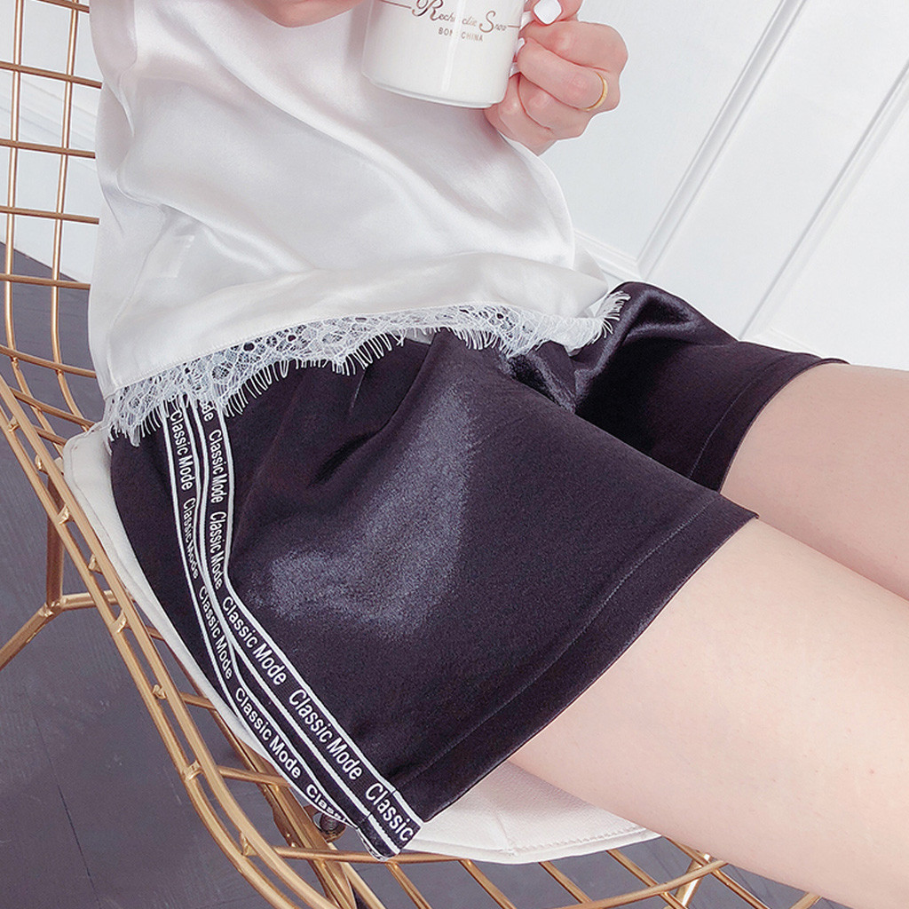 Женские короткие штаны для беременных с беременным шорты, повседневные однотонные штаны с высокой талией для беременных# p40US