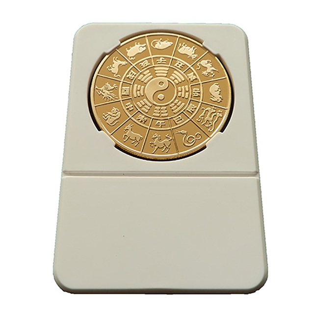 LOT 1X PCS 2013 Chinese Zodiac  LUNAR Snake Coin- Year of the snake Golden color