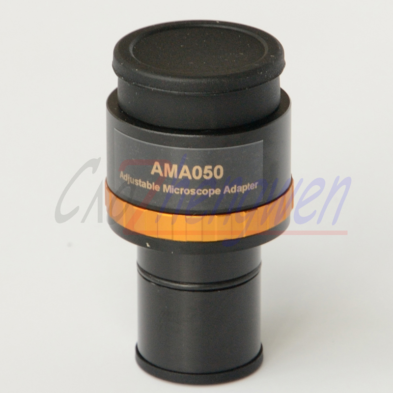 Livraison gratuite, adaptateur oculaire de caméra Microscope 0.5X focalisable CE avec interface 23.2mm et vis de montage C pour caméra Microscope