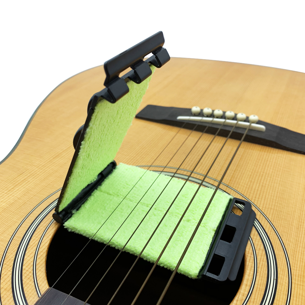 Acoustic Electric Guitar Bass Strings Cleaner Brush Board Scrubber Fingerboard Rub Cleaning Tool Maintenance Care Accessories