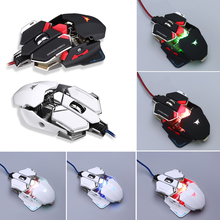 COMBATERWING CW-80 4800DPI color change Gaming Mouse 10 buttons customized for Windows