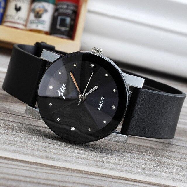 Fashion Jw Brand Casual Quartz Women Men Lovers Clock Leather Strap Casual Stude