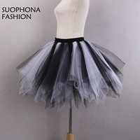 New Arrival Cheap Short Mini Petticoat Crinoline White Pink Black Blue Wedding Accessories Petticoats For Wedding
