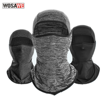 Motorcycle Balaclava Full Face Mask Breathable Airsoft Motocross Mask Shield Anti-UV Cycling Headband Men Neck Scarf Windproof [cosplacool]new hot sell windproof mask quick drying breathable anti uv soft maskwargame tactics balaclava hat