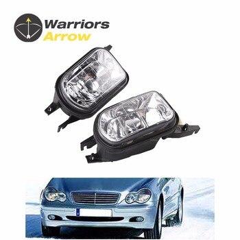 2038201856 2038201756 For Mercedes Benz W203 C-Class C320 C240 C230 C350 C280 Pair L +R Bumper Fog Light Lamp Foglight No Bulb