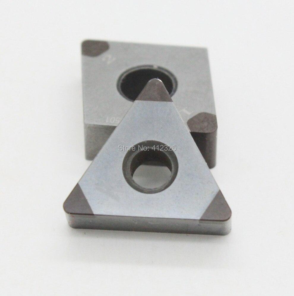 ФОТО PCBN PCD CNC Insert with Three Corner TNGA1604,TCGW.lathe tools CNC tools turning cutters