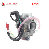 Alconstar 30mm Motorcycle Carburetor PD30J for 250cc Water Cooling Scooter ATV UTV Carb QUAD Go Kart CF250 CH250 CN250 GY6