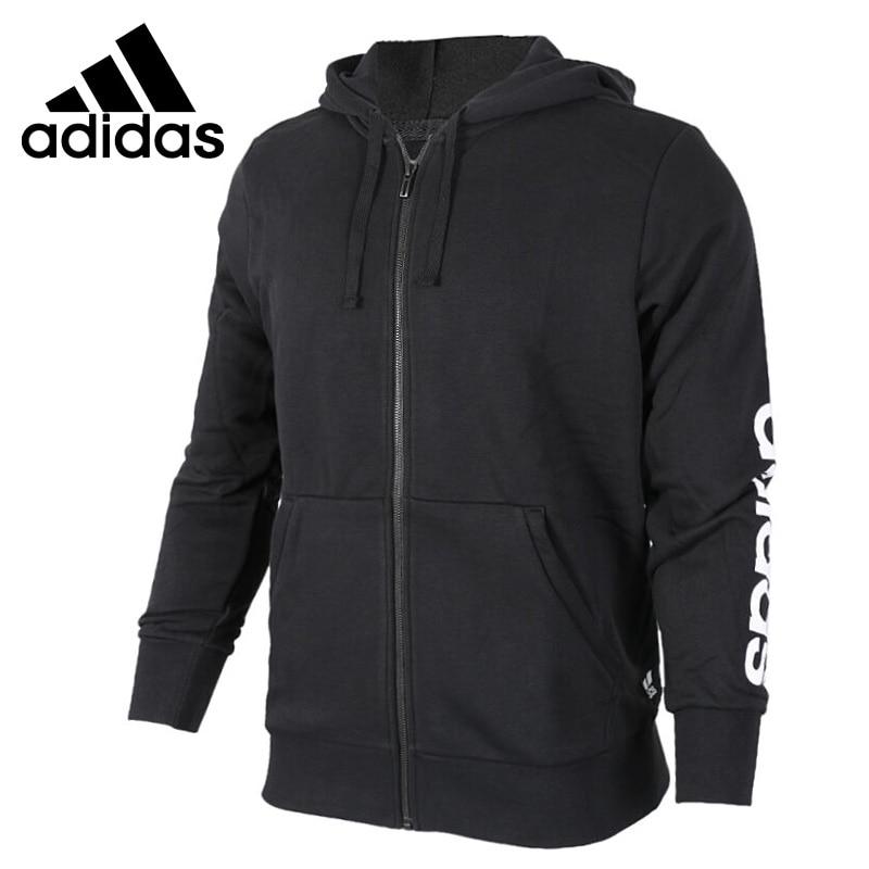 Original New Arrival 2018 Adidas ESS LIN FZ FT Men's jacket Hooded Sportswear new arrival 2017 original adidas ess lin fz hd women s jacket hooded sportswear page 5