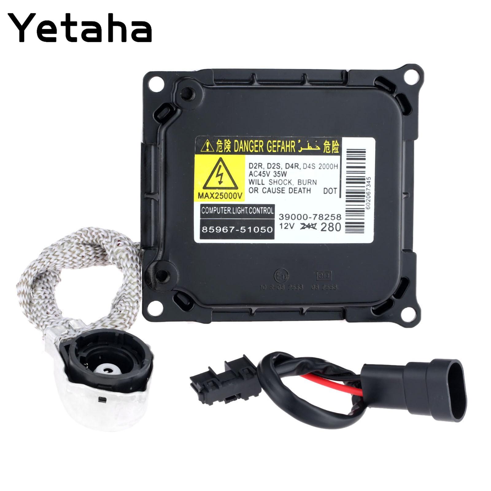 Yetaha D4S D4R Ксеноновые Фары балласт KDLT003 DDLT003 Управление модуль ЭБУ воспламенитель для Toyota Lexus ES350 высокое качество