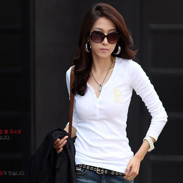 Polo Button Down Shirts White Shirts For Women Cheap-polo Shirt Women Polos Neck Sleeve Polos Feminina Blusa Feminino