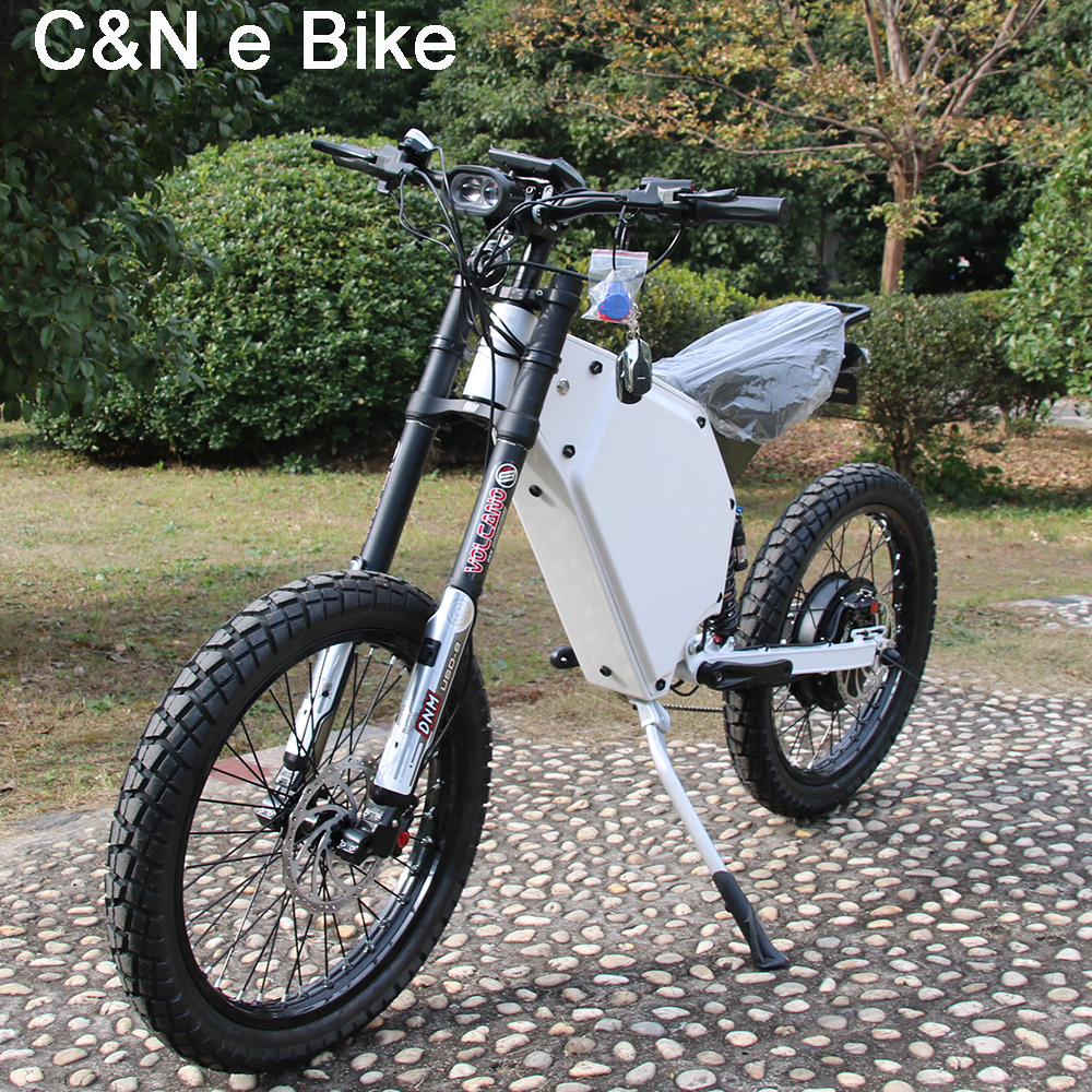 2017 Hot sale 72v 5000w Enduro Ebike Electric bicycle Mountain Bike Electric Motorcycle