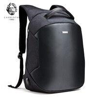 LAORENTOU 2017 Men Backpack Laptop Travel Bag Men S Business Computer Bag Multifunction Oxford School Backpacks