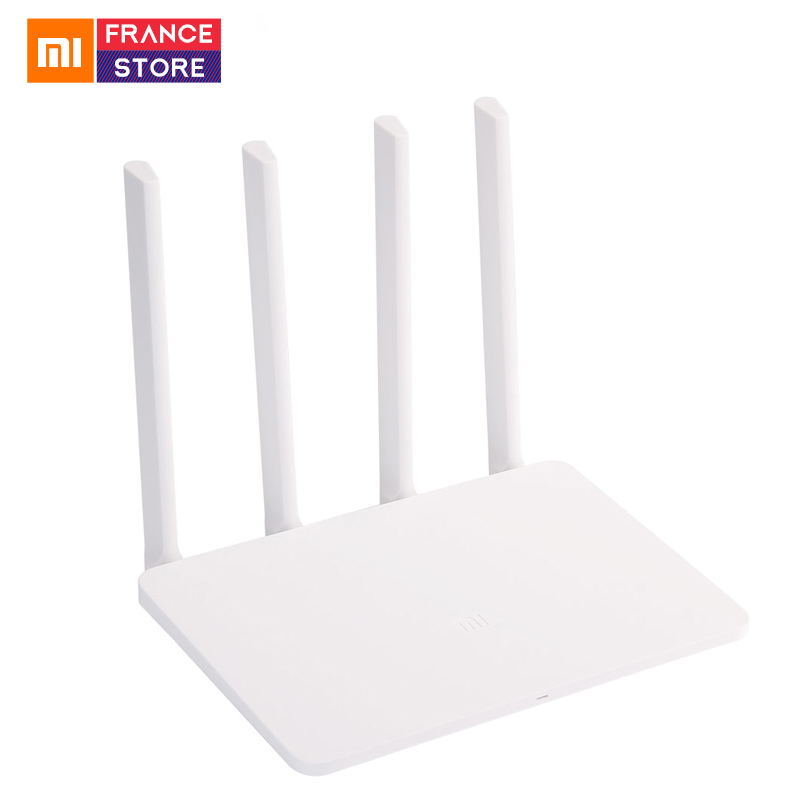 English Version Xiaomi WiFi Router 3 Dual Band 2 4/5G 128M ROM/RAM 802 11ac  Mi Wifi Wireless Routers Repeater APP Control