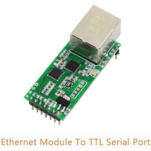10pcs/lot Ethernet Module Network To Serial Port RJ45 To TTL Network Port can apply to 232/485 USR TCP232 T2 for IOT