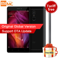 Global Version Xiaomi Redmi Note 4 Qualcomm 4GB 64GB Mobile Phone Snapdragon 625 Octa Core 5.5