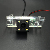 Car Rear View Camera For Peugeot 406 407 2D coupe 4D Sedan / RCA Wired Or Wireless CCD Night Vision HD Wide Lens Angle Camera