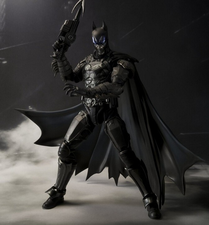 Bat Man Action Figure In Justice Bat-Man S.H.Figuarts 160MM Anime Model Toys Juguetes Movie Cartoon SHF Toy