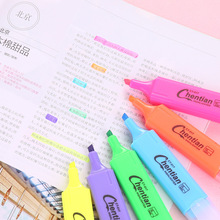 6 color DIY Cute Kawaii Highlighter Pen Lovely Watercolor Pen Draw Korean School office supplies student Stationery Gift