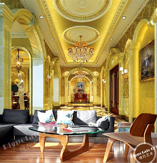 Custom photo wall paper, 3 d hotel veranda for the sitting room the bedroom TV setting wall waterproof papel de parede