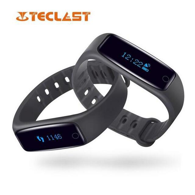 Nova teclast h30 banda inteligente pulseira display oled bluetooth 4.0 monitor de freqüência cardíaca aptidão sono rastreador pk xiaomi banda 2