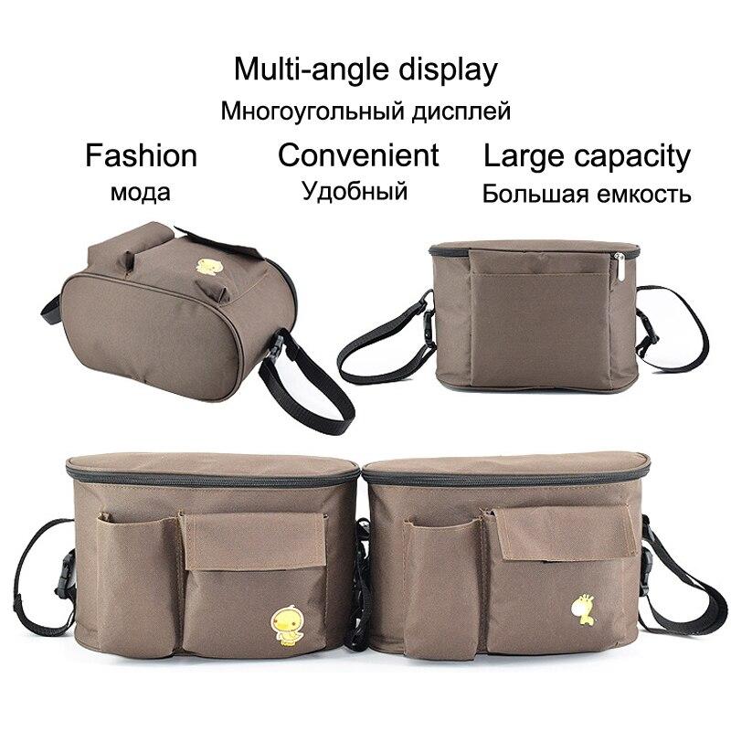 HTB1p3TJVPTpK1RjSZKPq6y3UpXai SeckinDogan Baby Stroller Bag Large Capacity Diaper Bags Outdoor Travel Hanging Carriage Mommy Bag Infant Care Organizer