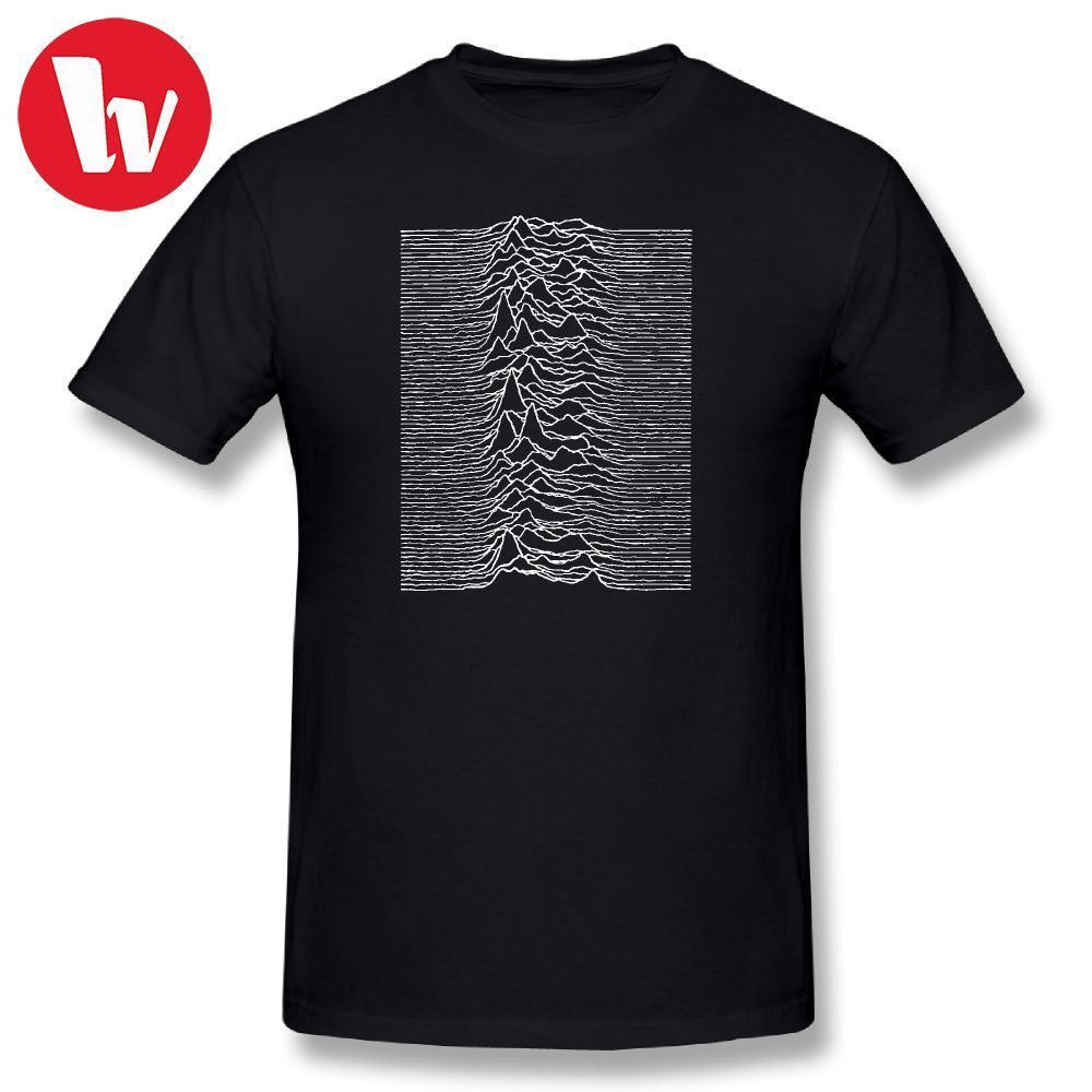 Joy Division   T     Shirt   Unknown Pleasures - Joy Division Music Tee   Shirt   Summer Men   T     Shirts   Fashion Graphic   T  -  Shirt   Funny Tshirt