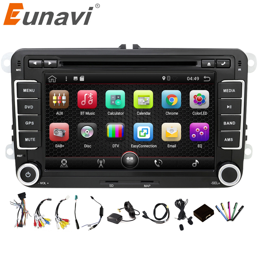 Eunavi 2 Din Android 7 1 font b Car b font Audio font b Car b
