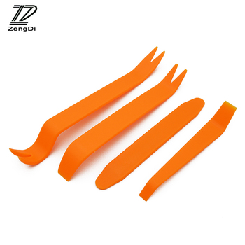 ZD 4pcs Car Audio Door Removal Tool for Mercedes Kia Alfa Romeo Fiat 500 BMW E39 E46 E90 E60 E36 F30 F10 Mini Cooper Accessories image