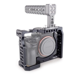 Image 5 - MAGICRIG Camera Cage With Standard Cold Shoe For Sony A7RIII/A7RII/A7MII/A7SII/A7III/A7II Camera To Quick Release Extension Kit