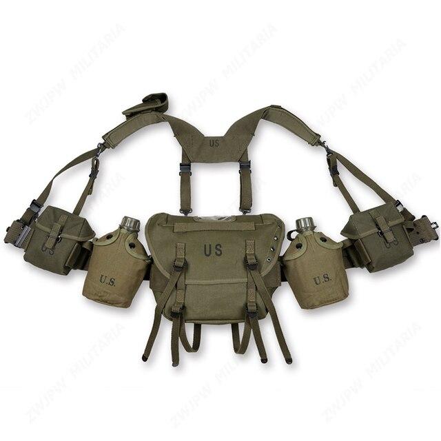 Equipo de paquetes de Fieldgear de la guerra de Vietnam, Estados Unidos, M1956, M1961, M16A1