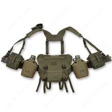 Vietnam Oorlog US M1956 M1961 M16A1 Fieldgear Pakketten Apparatuur