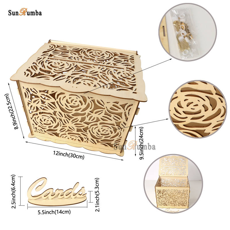 Wedding card box MUW-333-09