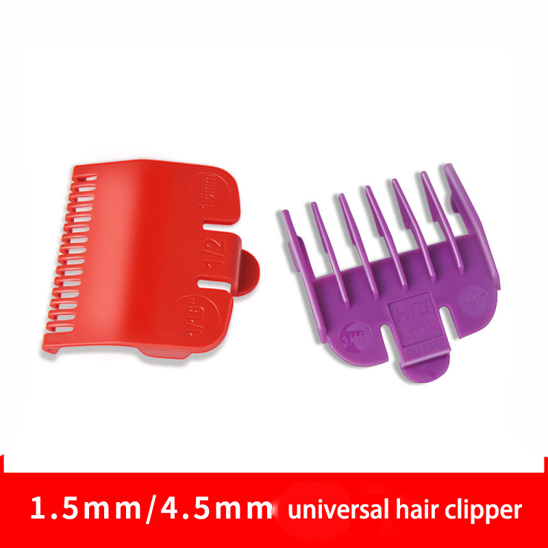 1.5mm 4.5mm Universal Hair Clipper Limit Comb Cutting Guide Attachment Size Barber Replacement Hair Care Styling Tool Set