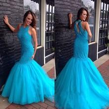 Mrs win Elegant Long Sexy Mermaid Prom Dress Party Dress