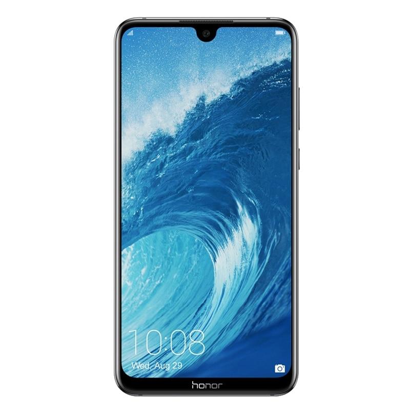 Мобильный телефон Honor 8X Max, экран 7,12 дюйма, Android 8,1, Восьмиядерный процессор 16 Мп, сканер отпечатка пальца, аккумулятор 4900 мАч