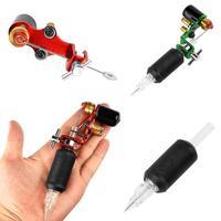 1pcs Professional Body Art Rotary Tattoo Motor Portable Aluminum Alloy Tattoo Machine Grip Lock Design Beauty