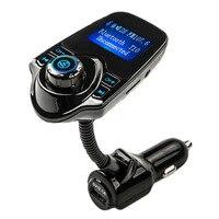 רדיו משדר FM נגן MP3 ערכה דיבורית לרכב Bluetooth מוסיקה מתאם עם שלט רחוק עבור iPhone/סמסונג LG Smartphone