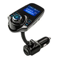 Bluetooth FM Car Mp3 Player Hands Free Call 1 44 LED Voltage Display USB Blue Hot